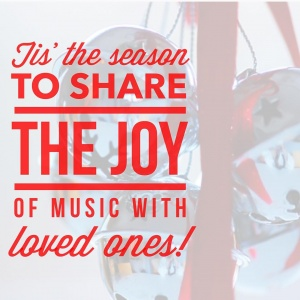 Do you have any musical holiday traditions that you share with your friends and family? #holidayseason #christmas #carols #jinglebells #singalong #concerts #nutcracker